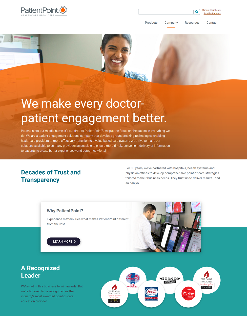 patientpoint career page