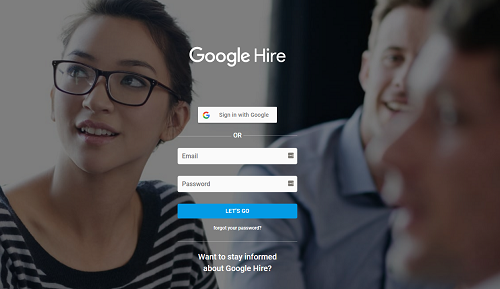 Google Hire Applicant Tracking System Cover