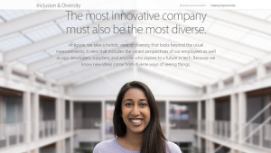 Apple Diversity Page Cover