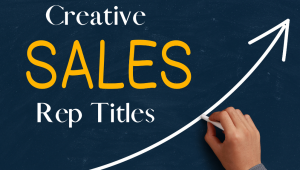 Creative Titles for Sales Reps