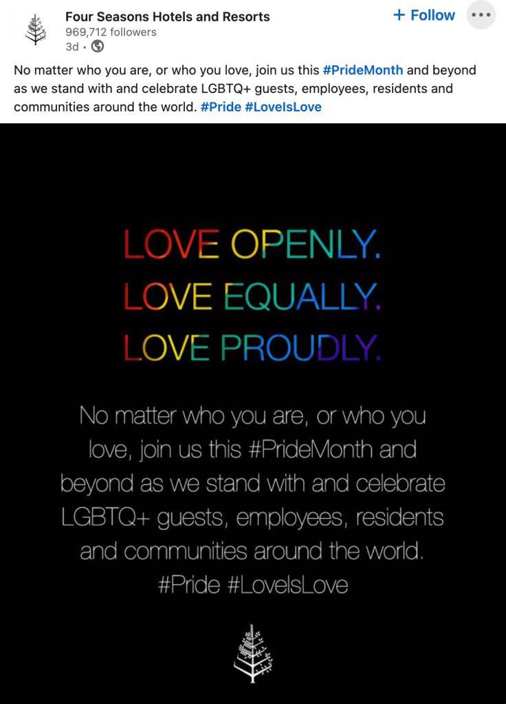 pride hashtags