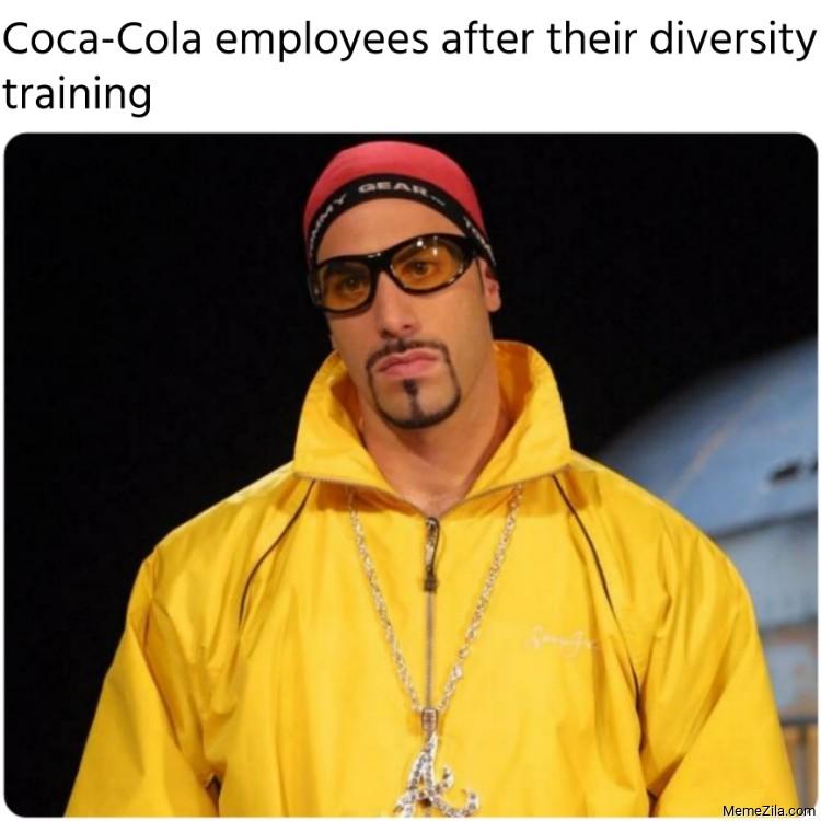 coca cola diversity meme