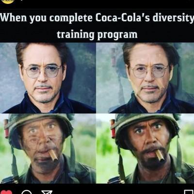 funny diversity training memes coke