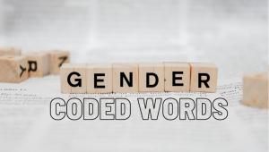 gender coded words list