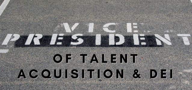 talent acquisition dei vp titles
