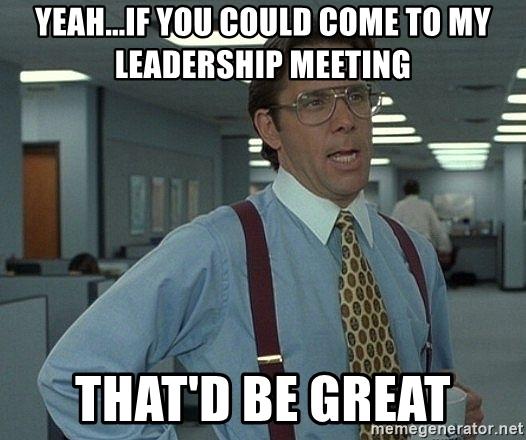 The Office meme leadership