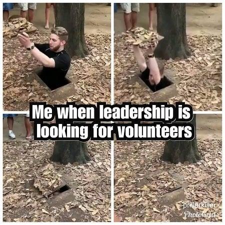 leadership meme military