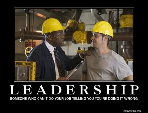 bad leadership meme