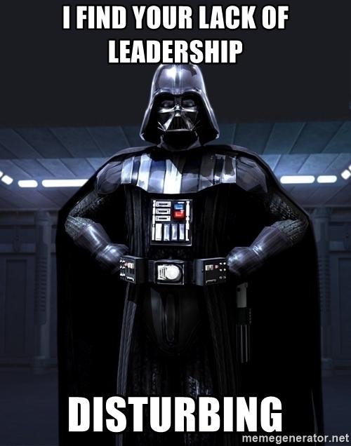 darth vader leadership meme