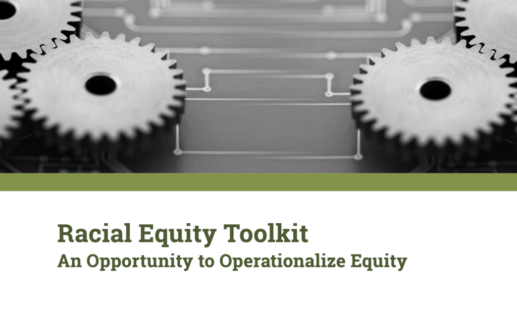 racial equity toolkit