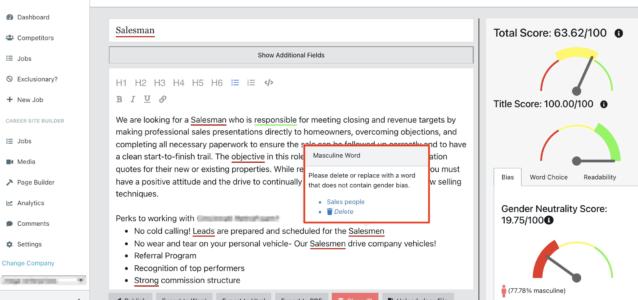 gender writing analysis tools